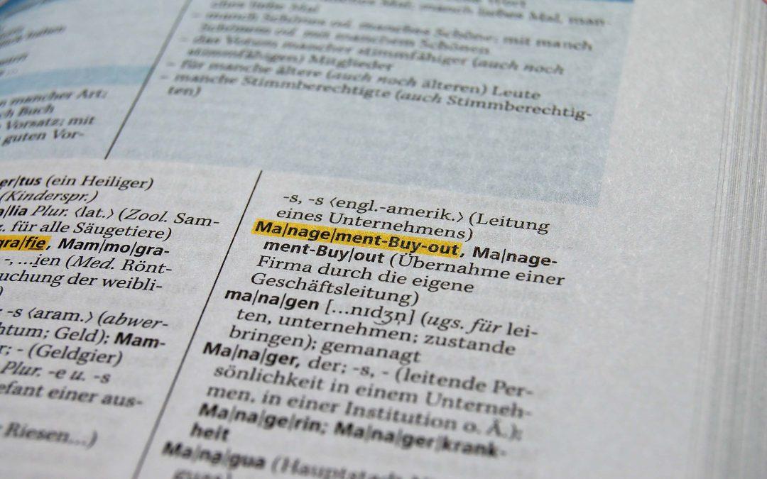 Englische Begriffe im Deutschen richtig schreiben