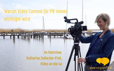 PR-Videos: Warum Video Content für PR immer wichtiger wird