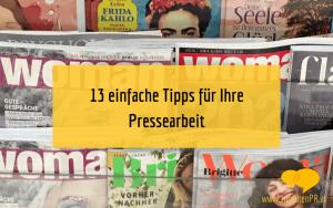 PrePressearbeit: 13 einfache Tipps für Gründer