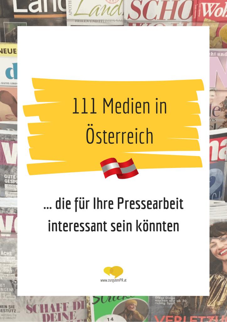 Medienliste Österreich