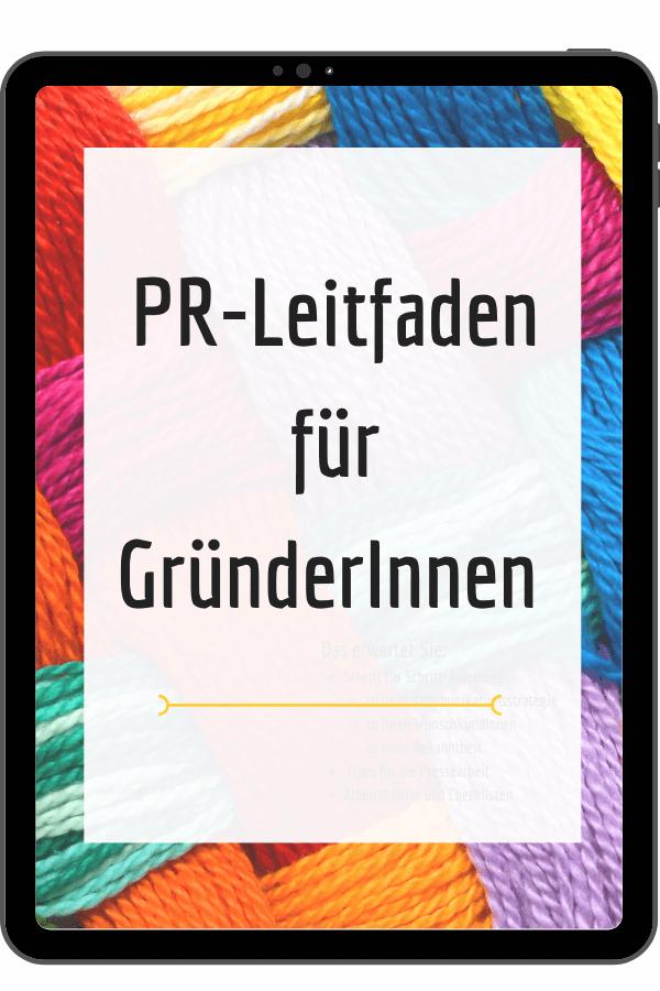 PR-Leitfaden