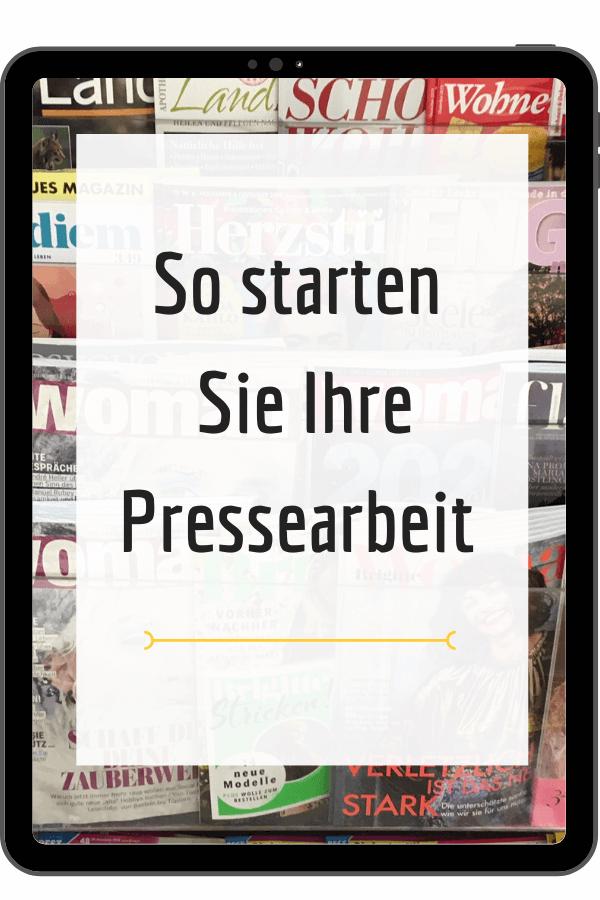 Pressearbeit online