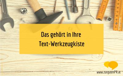 Gute Texte mit dem richtigen Textwerkzeug