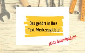 Checkliste besser texten