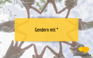 Gendern mit Sternchen